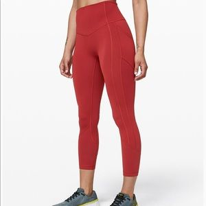 Lululemon all the right places crop II